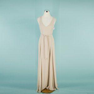 Show Me You Mumu S Blush Jenn Maxi Dress
